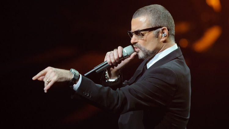 George Michael durante una de sus actuaciones