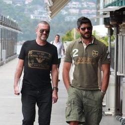 George Michael y Fadi Fawaz