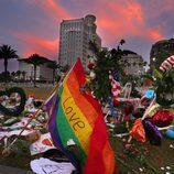 Memorial en honor a las víctimas del tiroteo de Orlando