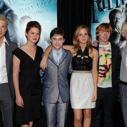 Los actores de 'Harry Potter y el misterio del príncipe' en la premier