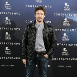Jan Cornet en el estreno de la película 'Contratiempo' en Madrid