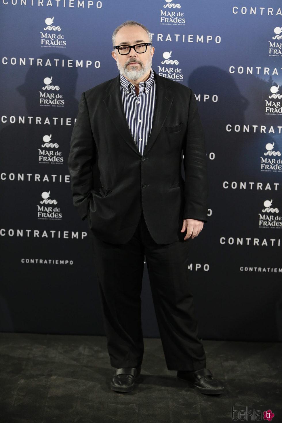 Álex de la Iglesia en el estreno de la película 'Contratiempo' en Madrid