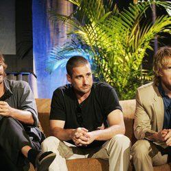 Owen, Luke y Andrew Wilson juntos en un tributo