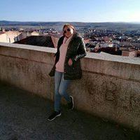 Belén Esteban haciendo turismo en Ávila la víspera del Día de Reyes 2016