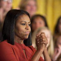 Michelle Obama muy agradecida en su último discurso como Primera Dama en Washington