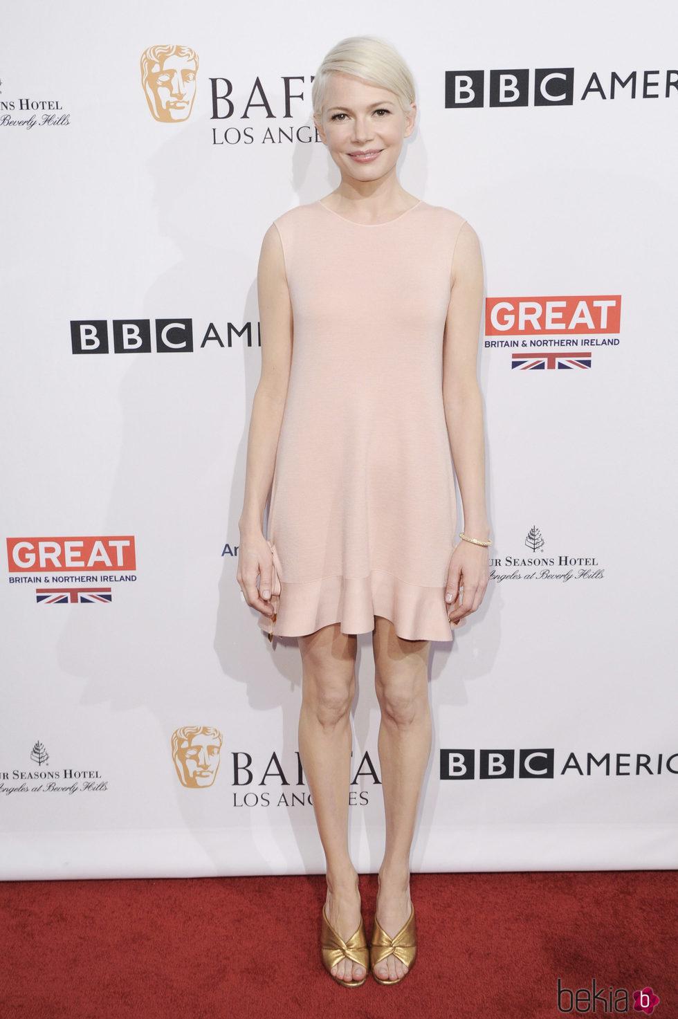Michelle Williams en la BAFTA Tea Party 2017