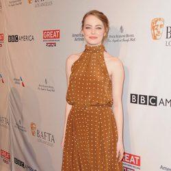 Emma Stone en la BAFTA Tea Party 2017