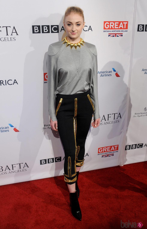 Sophie Turner en la BAFTA Tea Party 2017