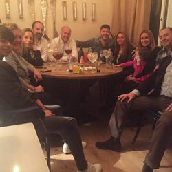 Toño Sanchís se despide de sus amigos y familiares con una cena antes de entrar en 'GHVIP'