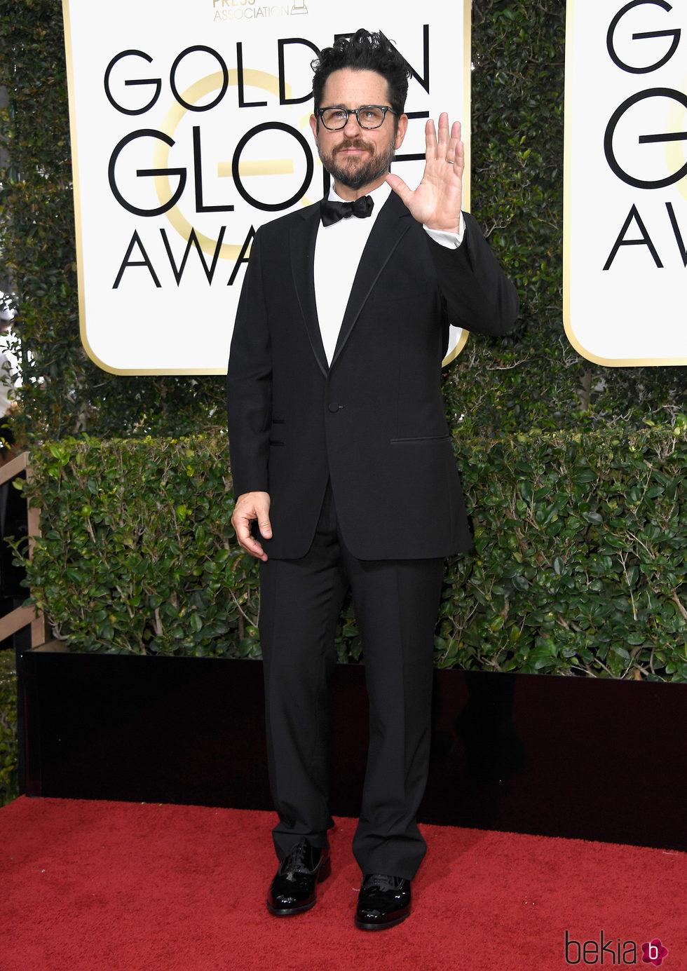 J.J. Abrams en la alfombra roja de los Globos de Oro 2017
