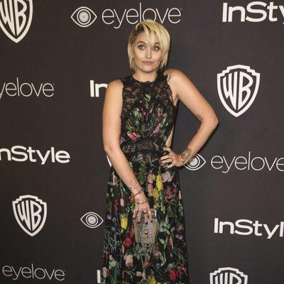 Paris Jackson en la fiesta de Warner Bros tras los Globos de Oro 2017