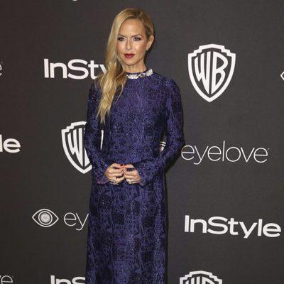 Rachel Zoe en la fiesta de Warner Bros tras los Globos de Oro 2017