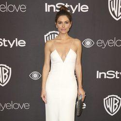 Maria Menounos en la fiesta de Warner Bros tras los Globos de Oro 2017