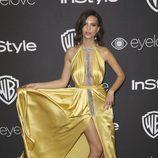 Emily Ratajkowski en la fiesta de Warner Bros tras los Globos de Oro 2017