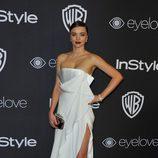 Miranda Kerr en la fiesta de Warner Bros tras los Globos de Oro 2017