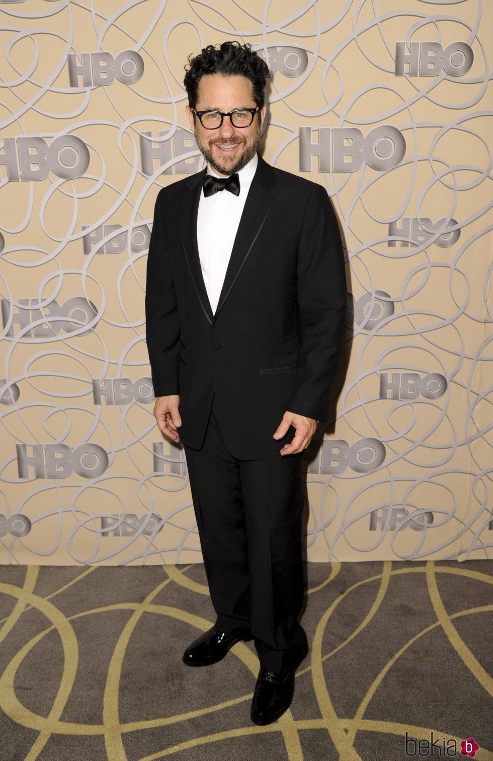 J. J. Abrams en la fiesta de HBO tras los Globos de Oro 2017