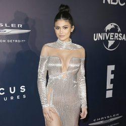 Kylie Jenner en la fiesta de NBC tras los Globos de Oro 2017
