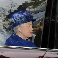 La Reina Iasbel II reaparece después de la Navidad