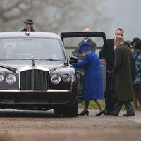 La Reina Isabel reaparece en un acto público después de su convalecencia