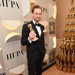 Tom Hiddleston después de la gala de los Globos de Oro 2017