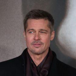 Brad Pitt en la presentación de 'Aliados'