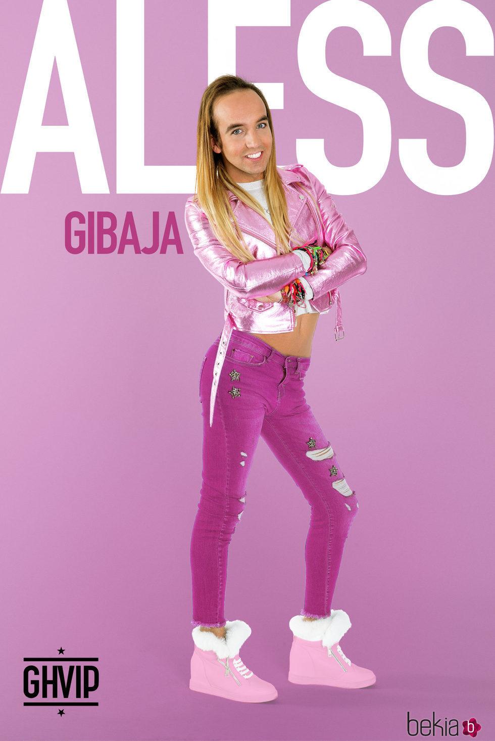 Aless Gibaja en la fotografía oficial de 'Gran Hermano VIP 5'