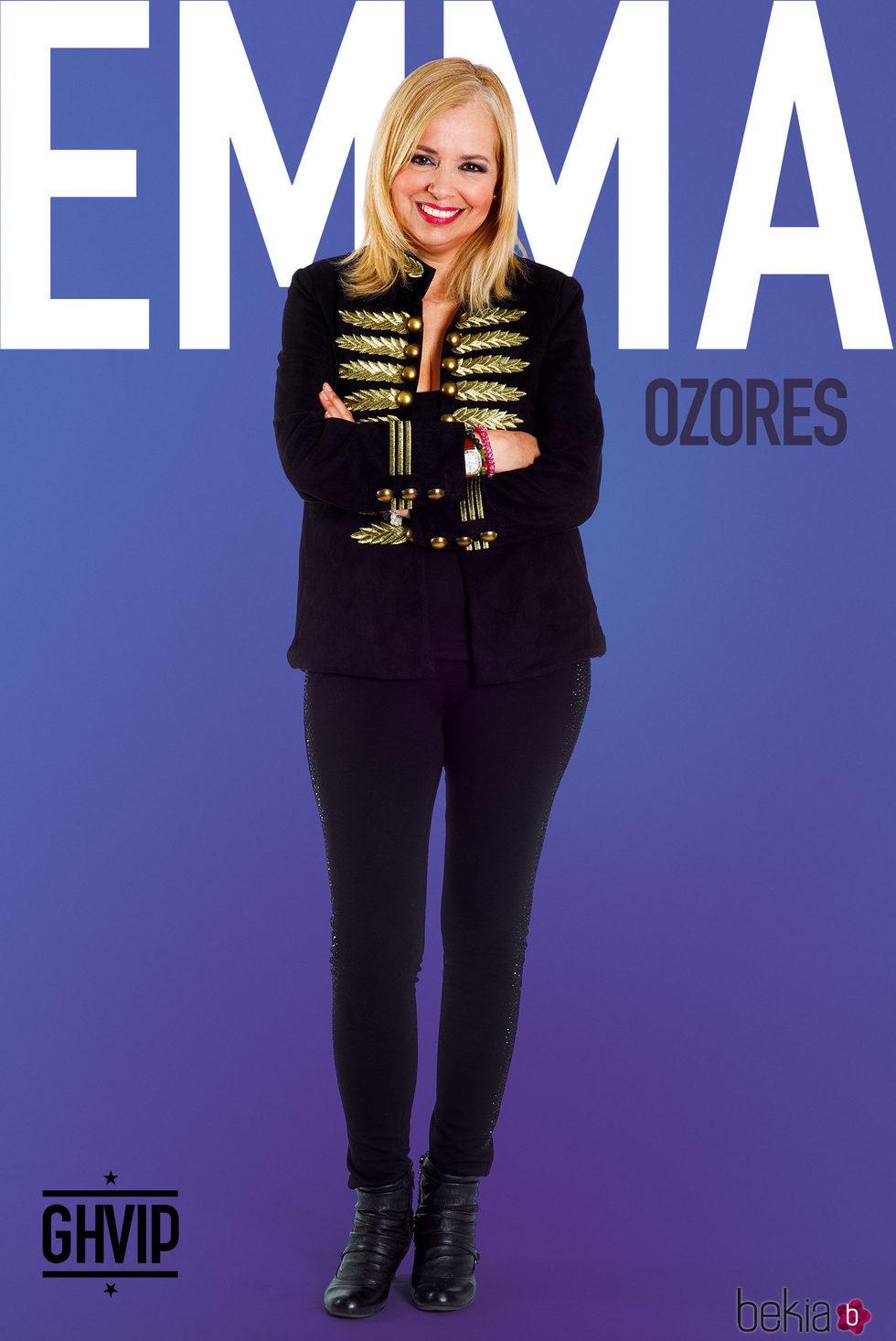 Emma Ozores en la fotografía oficial de 'Gran Hermano VIP 5'