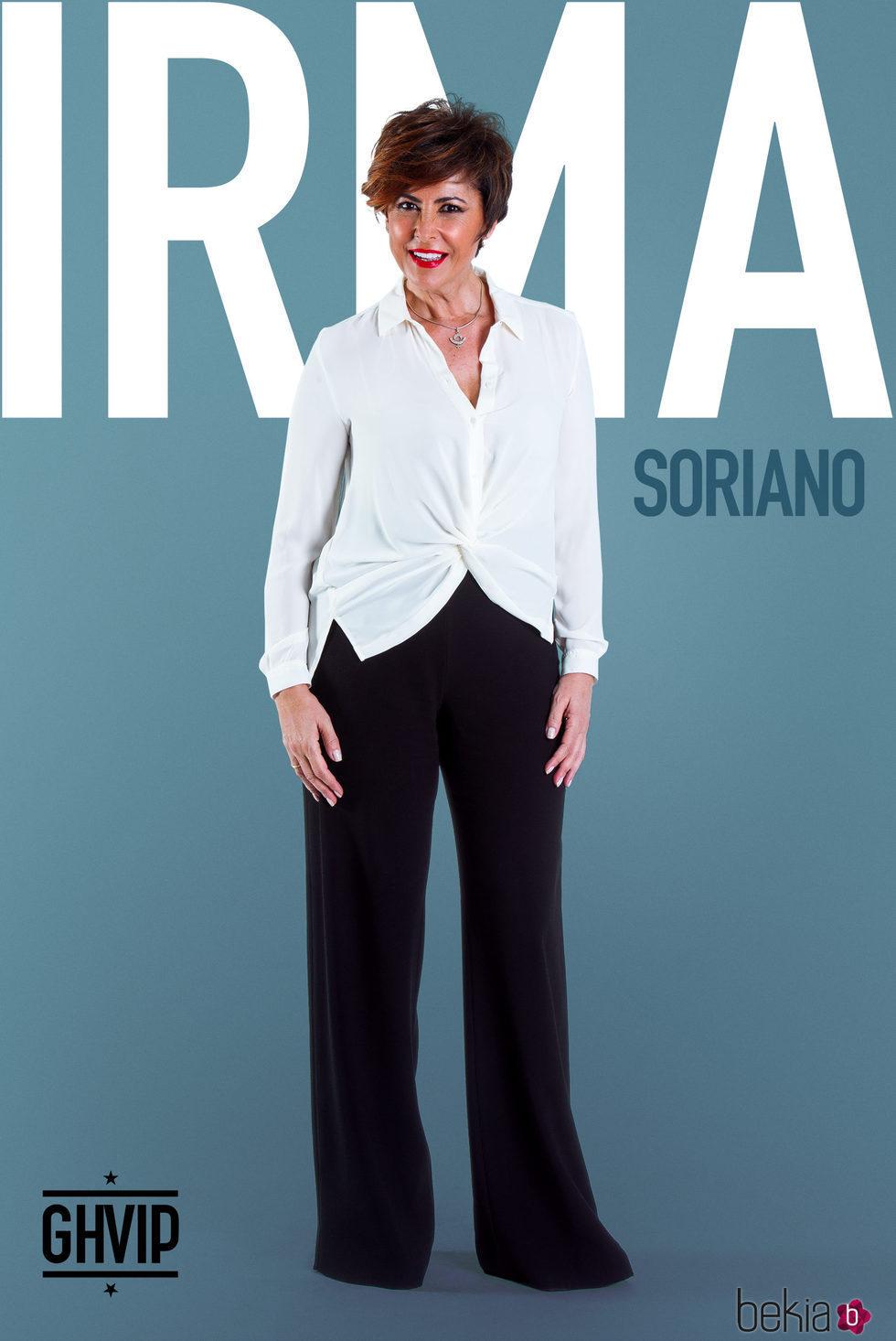 Irma Soriano en la fotografía oficial de 'Gran Hermano VIP 5'