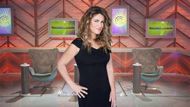 Carlota Corredera en la fotografía oficial de 'Cámbiame'