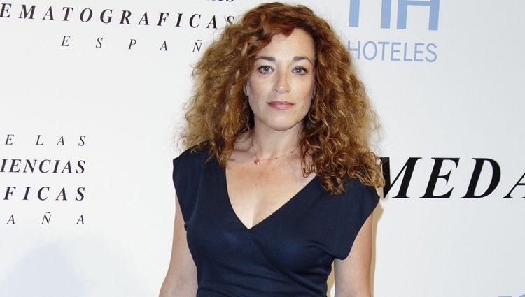 La actriz Cristina Marcos