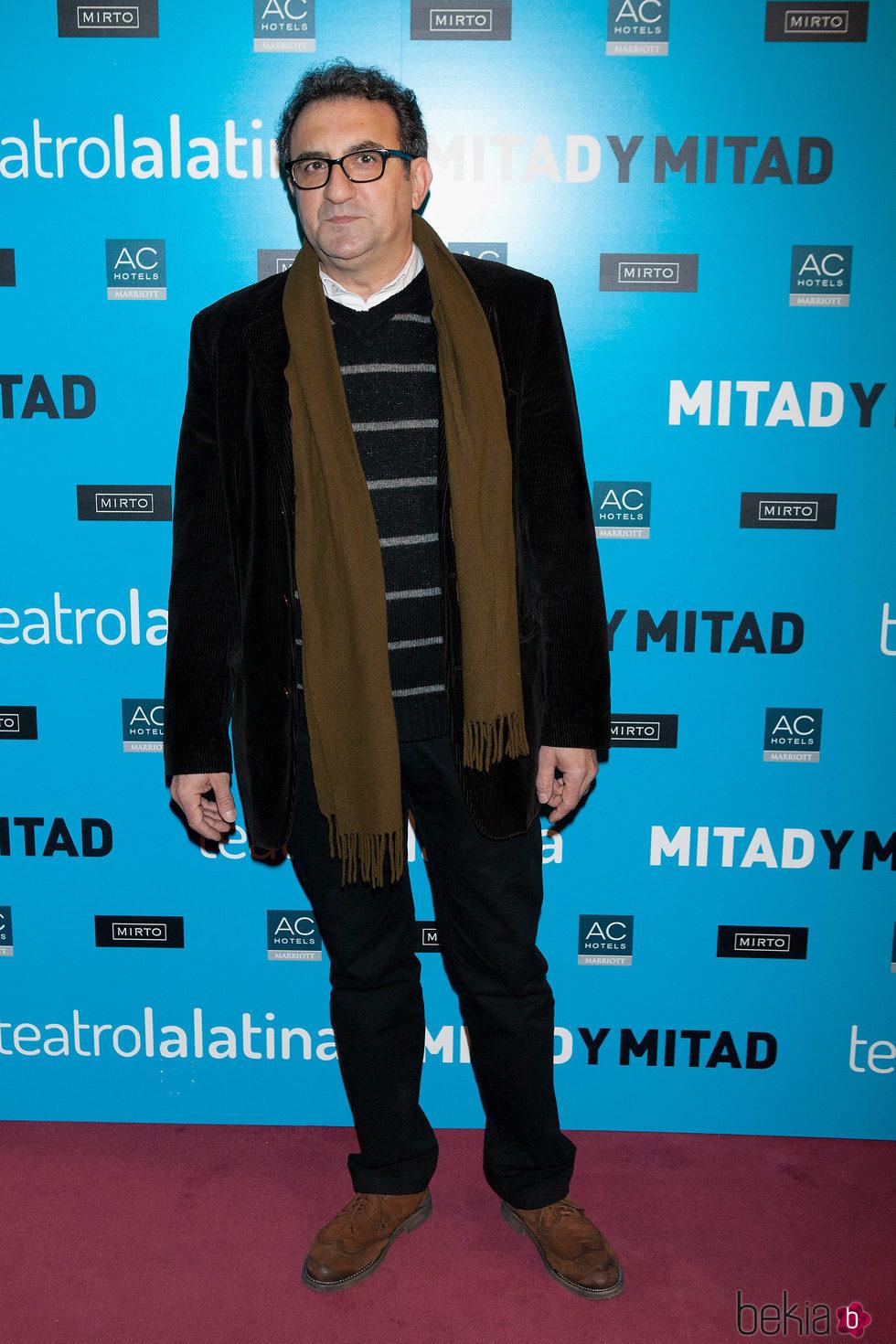 El actor Juanjo Cucalón en una premier