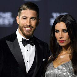 Pilar Rubio y Sergio Ramos en The Best FIFA Awards 2016