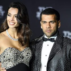 Joana Sanz y Dani Alves en The Best FIFA Awards 2016