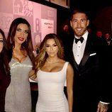 Eva Longoria con Sergio Ramos, Pilar Rubio y otras caras conocidas en The Best FIFA Awards 2016