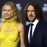 Carles Puyol y Vanesa Lorenzo en The Best FIFA Awards 2016