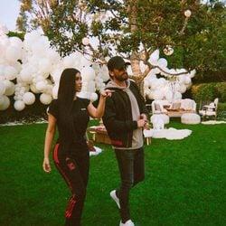 Kim Kardashian junto a Scott Disick en Dubai