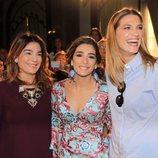 Raquel Bollo, Alma Cortés y Laura Sánchez en la pasarela 'We love flamenco' 2017