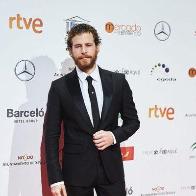Álvaro Cervantes en la entrega de los Premios Forqué 2017