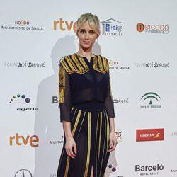 Ingrid García Jonsson en la entrega de los Premios Forqué 2017