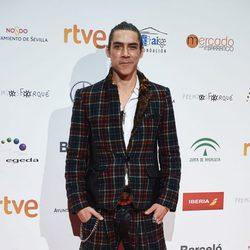 Óscar Jaenada en la entrega de los Premios Forqué 2017