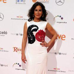 Belén López en la entrega de los Premios Forqué 2017