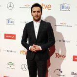 Ricardo Gómez en la entrega de los Premios Forqué 2017