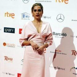 María León en la entrega de los Premios Forqué 2017