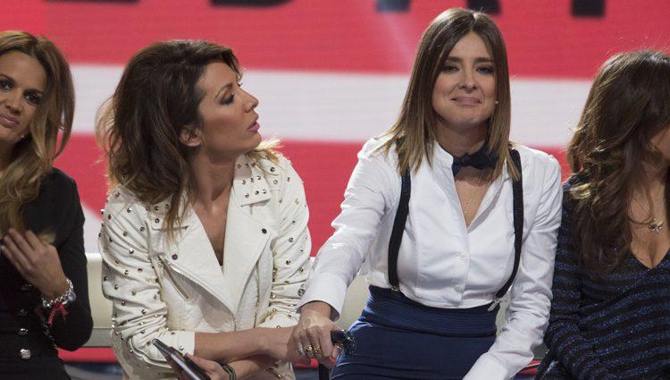 Nagore Robles y Sandra Barneda en el primer debate de 'Gran Hermano VIP 5'