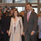 Los Reyes Felipe y Letizia en la inauguración de FITUR 2017