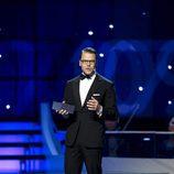 Daniel de Suecia presentando la gala de premios del Deporte Sueco 2017