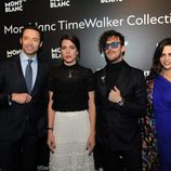 Hugh Jackman, Carlota Casiraghi, Aldo Comas y Macarena Gómez en The Montblanc SIHH
