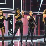 Fifth Harmony actuando en los people's Choice Awards 2017