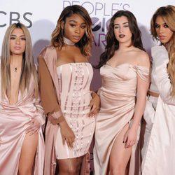 Fifth Harmony en la alfombra roja de los People's Choice Awards 2017