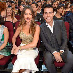 Sofía Vergara acompañada de su hijo Manolo González-Ripoll en los People's Choice Awards 2017